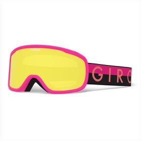 Giro Moxi Gafas Mujer, white core light/amber pink/yellow